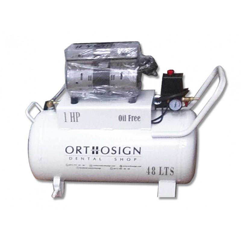 Compresor dental libre de aceite 1 hp orthosign dental shop for Aceite para compresor
