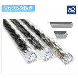 Alambre Acero Inoxidable en Barra (10 pcs) American Orthodontics