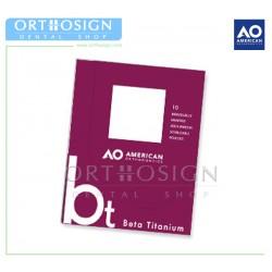 Arcos Beta Titanio (10 pcs) American Orthodontics