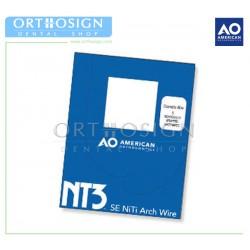 Arcos Niti NT3 Dimpled (10 pcs) American Orthodontics