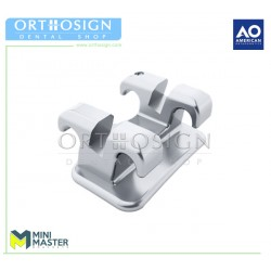 Brackets Mini Master Roth - MBT American Orthodontics