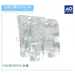 Brackets Estéticos Radiance Plus American Orthodontics