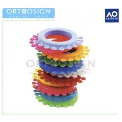 Módulos elásticos 960 pcs American Orthodontics