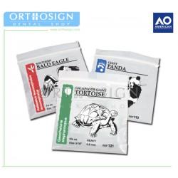 Elásticos intermaxilares Wildlife (Caja 100 bolsas) American Orthodontics