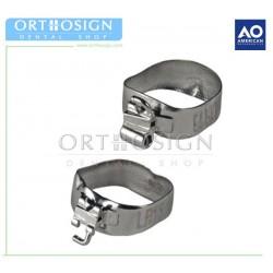 Bandas con Tubo American Orthodontics