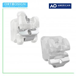 Brackets Autoligado Trasparentes Empower Clear Roth MBT American Orthodontics