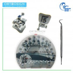 Bracket de Autoligado Evolution Ortho Premium