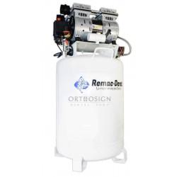 Compresor Dental 2 Hp de 72 Litros Libre de Aceite Remac Dent