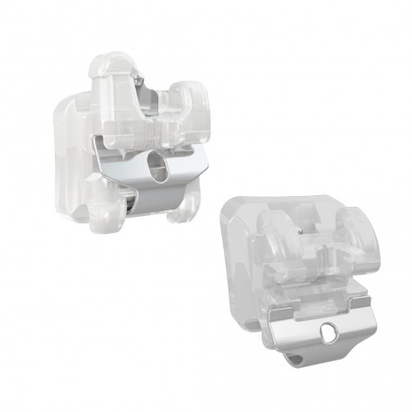Brackets Autoligado Trasparentes Empower Clear Roth MBT American Orthodontics