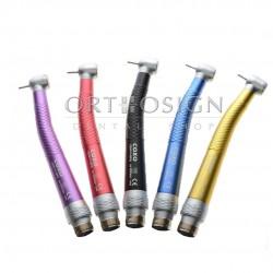 Pieza de Mano Alta Velocidad Push Button de Colores Coxo CX-207C1