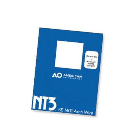 Arcos Niti NT3 VLP Autoligado (10 pcs) American Orthodontics