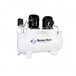 Compresor Dental 1/3 Hp  48 Litros de Aceite Remac Dent