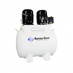 Compresor Dental 1/2 Hp 72 Litros de Aceite Remac Dent