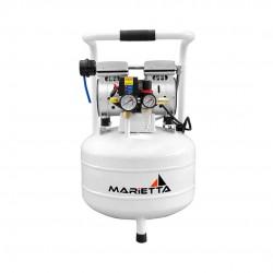 Compresor Dental 3/4 Hp de 30 Litros Libre de Aceite Marietta