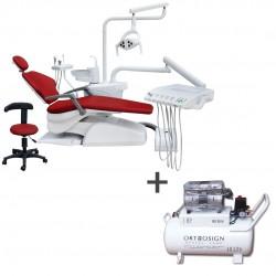 Unidad Dental Eléctrica Standard Equipada Fussion