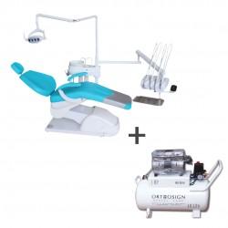 Unidad Dental Eléctrica Advance 1000 Colibrí Rojas Dent